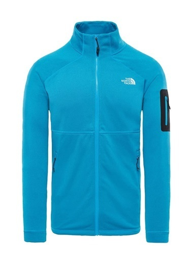 The North Face Impendor Powerdry 1/4 Zip Kadın Mont Gri Gri